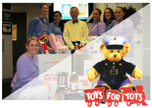 Moin Orthodontics Collects Toys for Toys for Tots