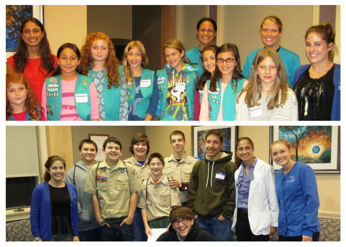 Girl & Boy Scouts Visit Moin Orthodontics